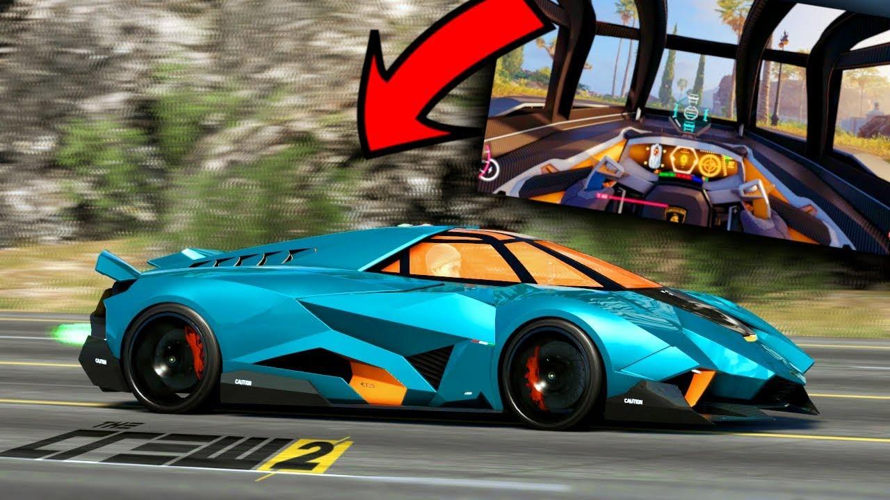 Proviamo La Lamborghini Egoista The Crew 2 Top Speed Youtube