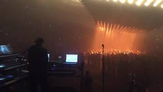 kanye west floating stage mike dean in control tampa show