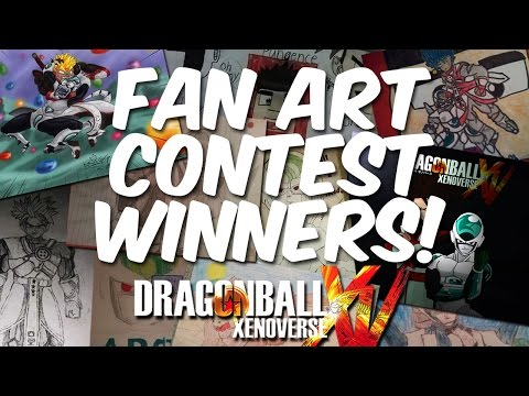 Dragon Ball Xenoverse Gameplay - FAN ART CONTEST WINNERS - (Xbox One) E105 | Pungence