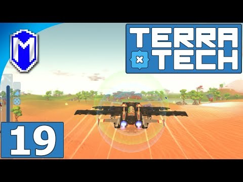 TerraTech - Rocket Powered Jet Fighter, Our Missile Plane - Let's Play TerraTech Gameplay Ep 19