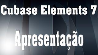 SCBEL7E1 - Cubase Elements 7 - Apresentação em português do Brasil
