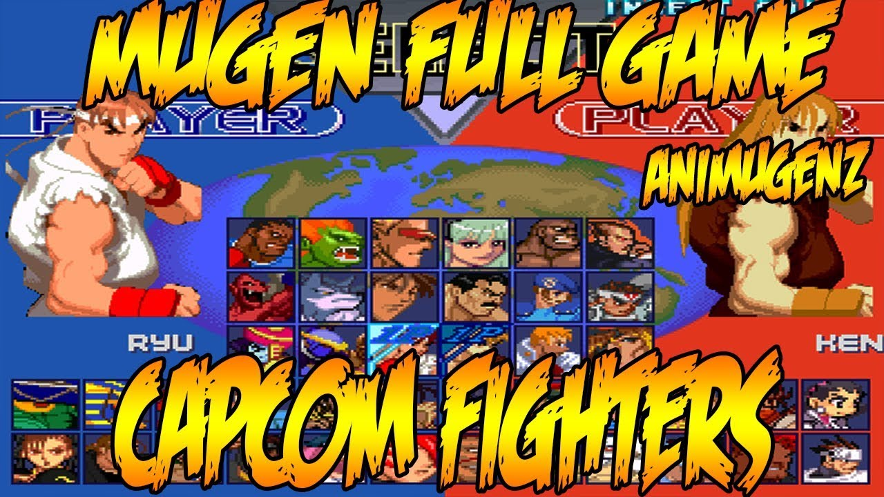 [MUGEN FULL GAME] Capcom Fighters Super Moves Showcase ...