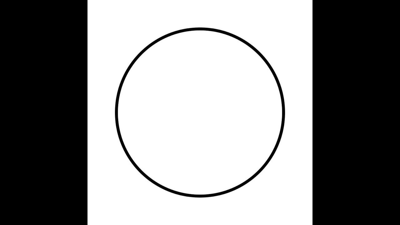 помощью оформляют круг рисунок шаблон для этого надо