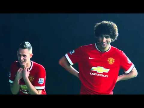 Penalty Kicks  Fellaini, Januzaj & Di Maria Take On De Gea