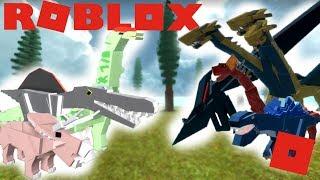 Roblox Dinosaur Simulator - Movie Dinos VS Kaijus! (Bataille des plus forts)