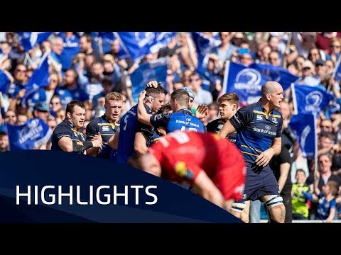 Leinster Rugby v Scarlets (SF) - Highlights - 21.04.2018