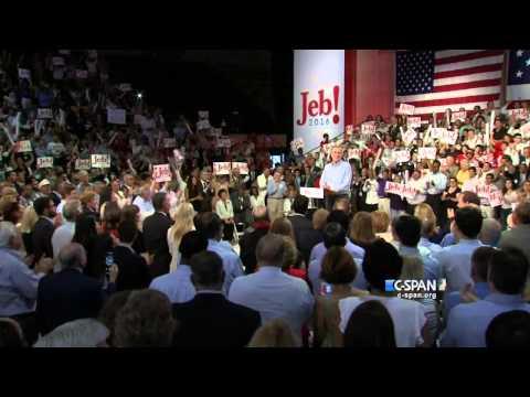 Jeb Bush Presidential Campaign Announcement Full Speech (C-SPAN)