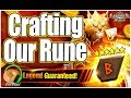 SUMMONERS WAR : Crafting Our Perfect Rune :D