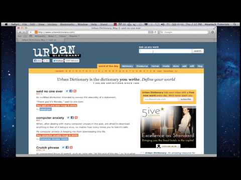 How to Find Definition of Slang with Online Slang Dictionary