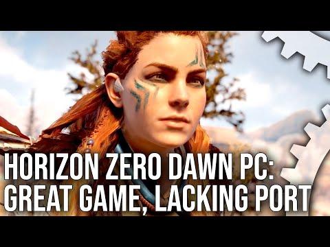 Guerilla lovar att styra upp PC-versionen av Horizon Verkar vara en väldigt varierad upplevelse