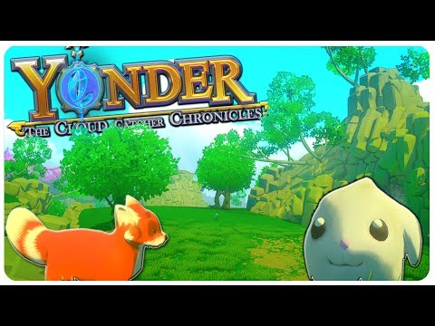 Harvest Moon meets Breath Of The Wild? :O | Yonder: The Cloud Catcher Gameplay
