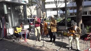 The 14th Shinjuku Trad Jazz Festival(二日目) 松本耕司(Tb)・長谷川光(G)・遠藤昭浩(G)・渡部拓実(B) 1/2