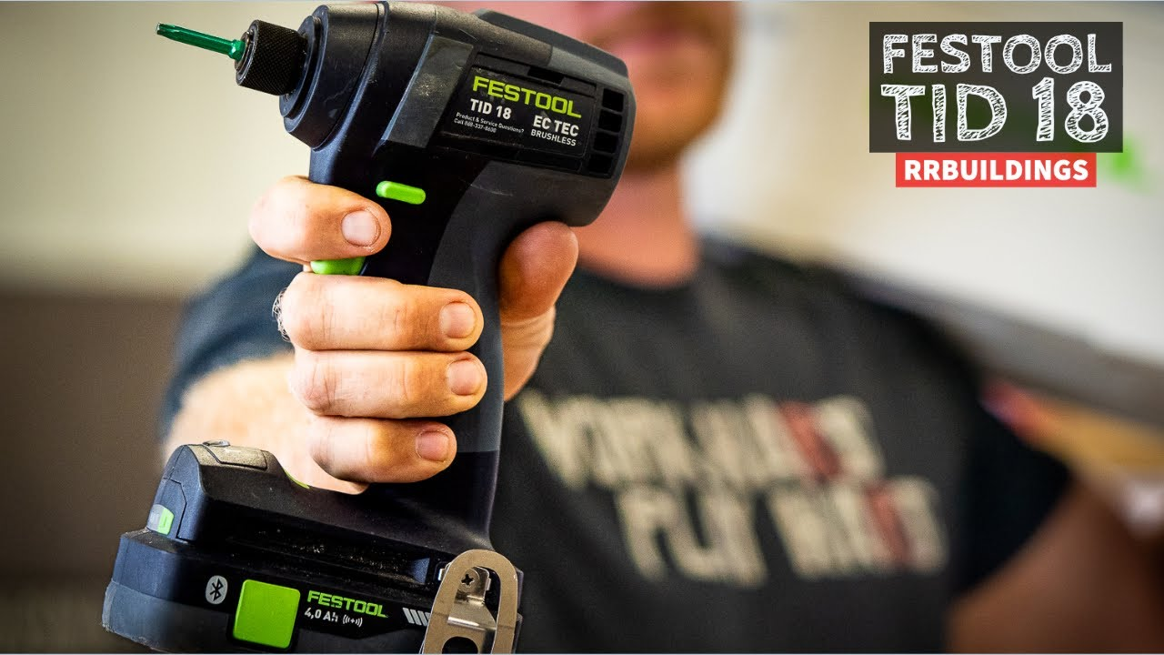 Festool TID 18 Is it any GOOD?