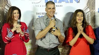 UNCUT Padman Song Aaj Se Teri Launch Full Video HD - Akshay Kumar,Twinkle Khanna,Radhika Apte