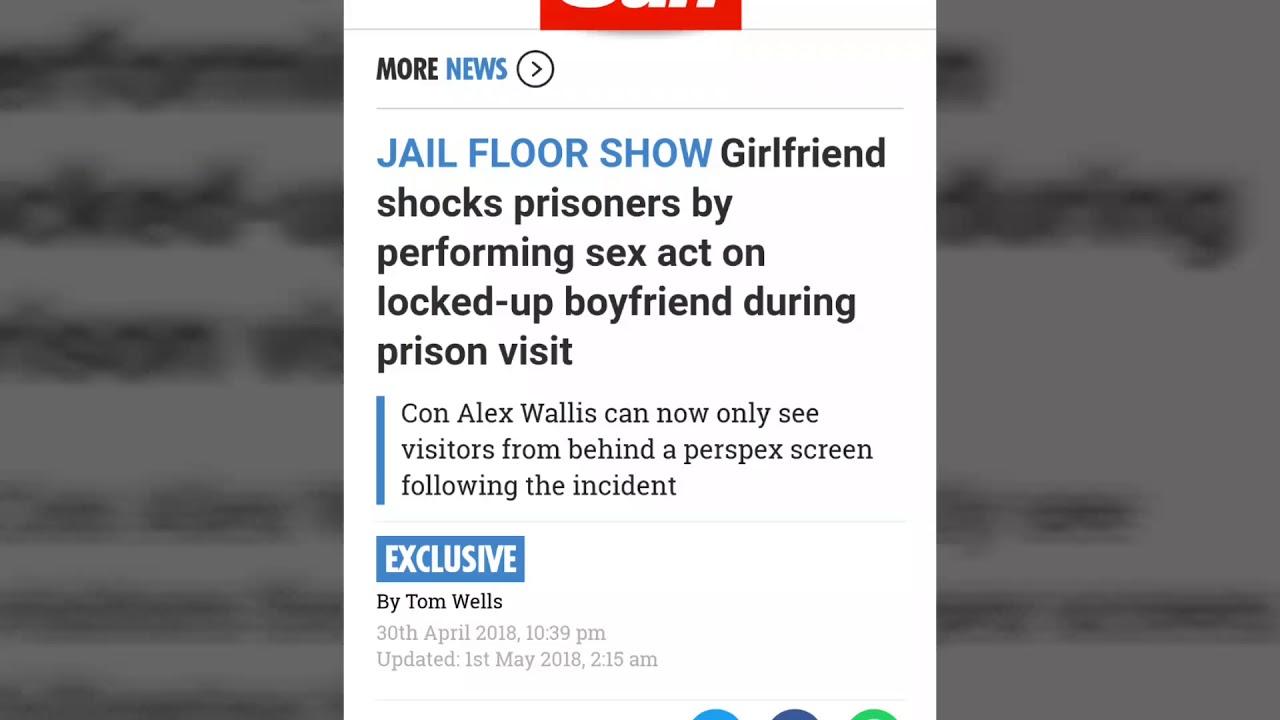 Girfriend has sex with boyfriend in prison pics 860