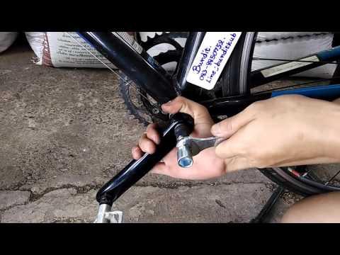 สอนถอด ขาจานหน้าจักรยาน / สอบถาม Line ; @xmh0251s