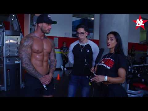 ZACK SMITH Habla para MD Latino en Fitness Weekend Mexico