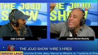 MIchel Martelly nan Jojo Show ap kase met nan men Jean Monard, Youri Latortue ak Liliane