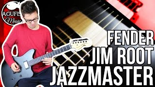 Fender Jim Root Jazzmaster Demo    A Metal Jazzmaster? How Is This Guitar Not More Popular?!