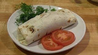 Chili Lime Chicken Burrito