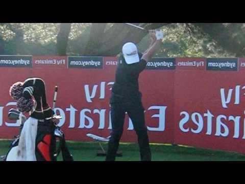 Adam Scott golf swings (driver to short iron) – as a left-handed golfer  (2015-2016)