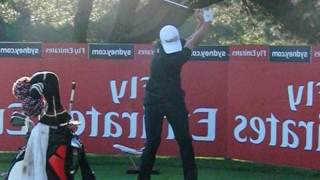 Adam Scott golf swings (driver to short iron) - as a left-handed golfer  (2015-2016)