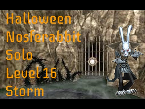 Wizard101 Solo Nosferabbit Dungeon (Lv 16 Storm)