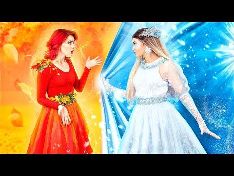 Autumn Girl vs Winter Girl! / College Prank Wars!