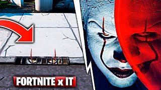 Fortnite x It: The Balloons Move And The Pennywise Skin Fortnite Battle Royale
