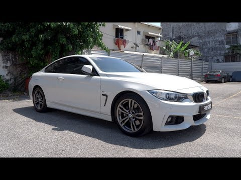 2016 BMW 430i Coupe M Sport Start-Up and Full Vehicle Tour