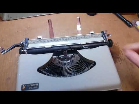Antares Parva ultra portable typewriter