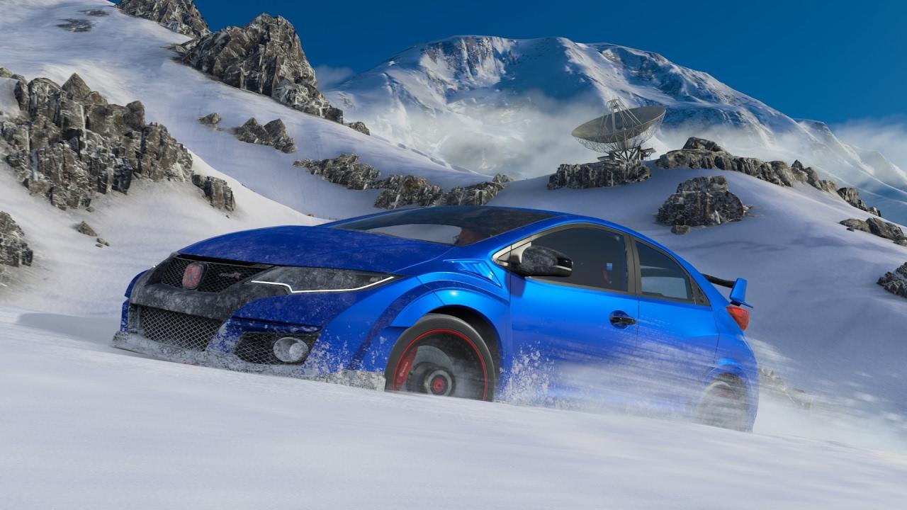 Forza Horizon 3 Blizzard Mountain,PLAYSEAT Autopaket,2016 Honda ...