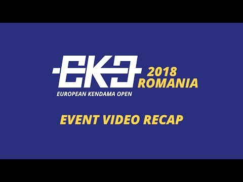 EKO 2018 Romania - European Kendama Open
