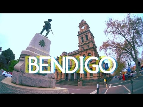 Bendigo Australia is a cool city