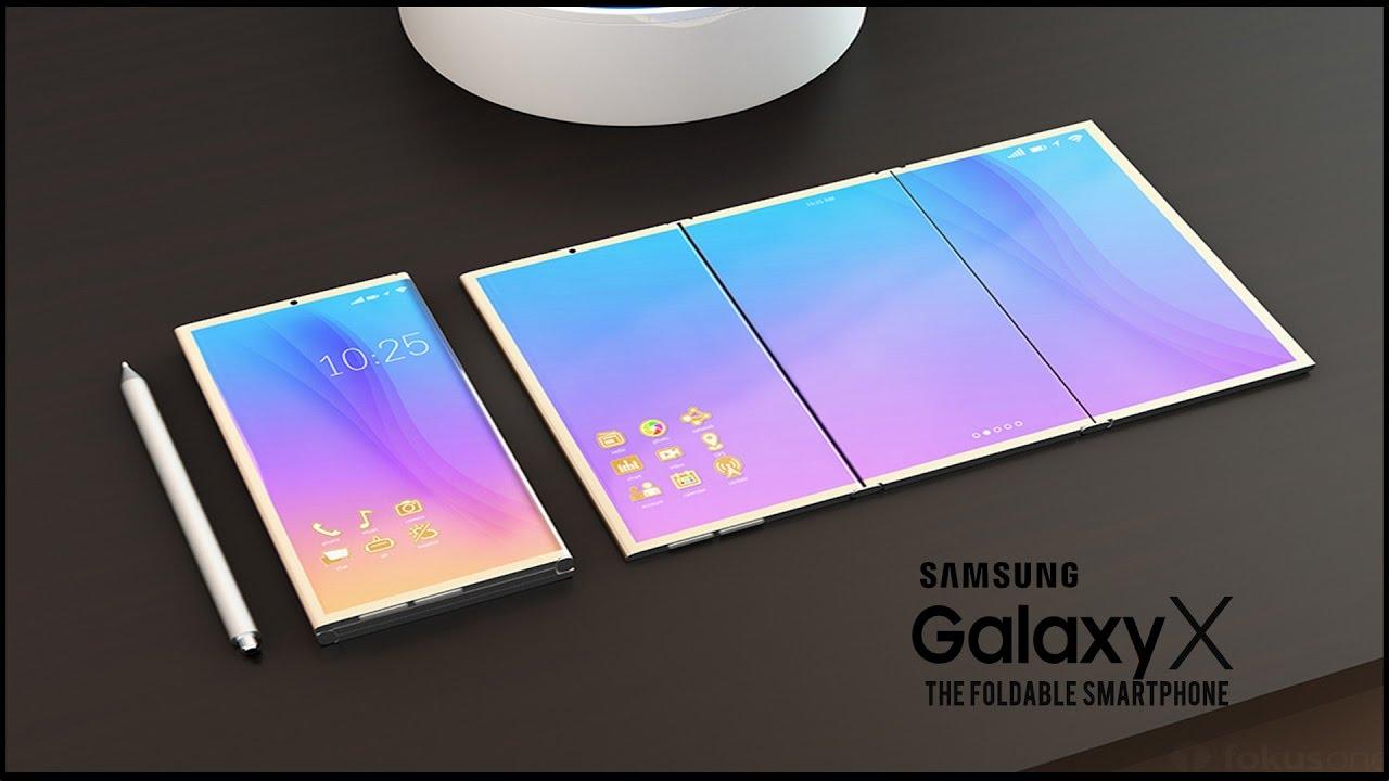 Samsung Galaxy X: Lo smatphone pieghevole 1