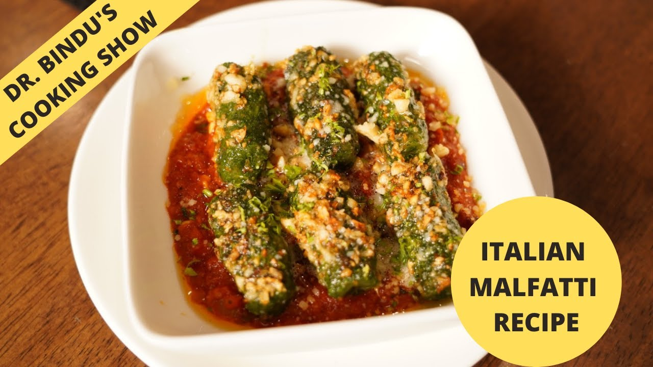 Download Italian Malfatti Recipe #chefspecial  || DR.BINDU'S COOKING SHOW