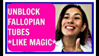 How To Unblock Fallopian Tubes Naturally (LITTLE KNOWN SECRET Rx 2018)