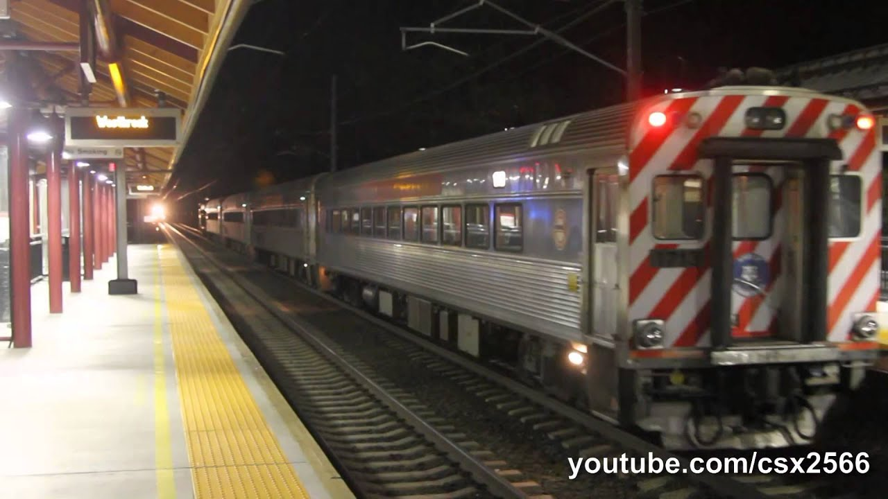 hd amtrak and shoreline east at westbrook youtube