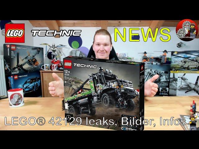 Neue Bilder und Infos   Lego® Technic Neuheit 2021   Lego® Technic 42129 Mercedes-Benz Zetros Leak