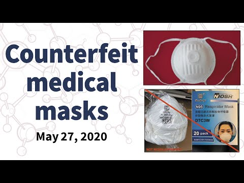 #covidscams For May 27, 2020: Fake Medical Masks Reach Frontline Workers