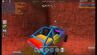 Roblox-How to climb walls with the dune buggy! Jailbreak (Beta)