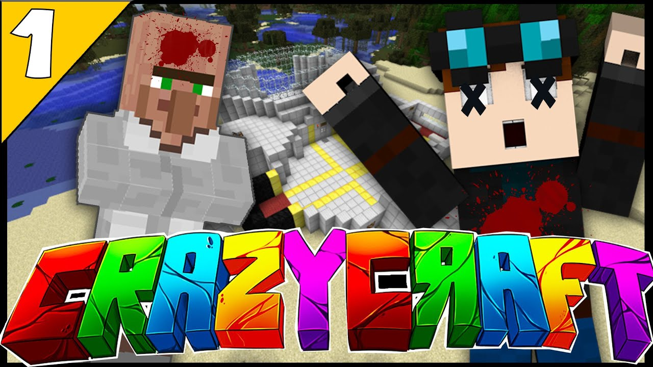 Minecraft crazy craft 3 0 i killed thediamondminecart for Crazy craft 3 0 server