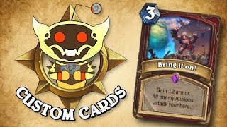 TOP CUSTOM CARDS OF THE WEEK #37 | Card Review | Hearthstone
