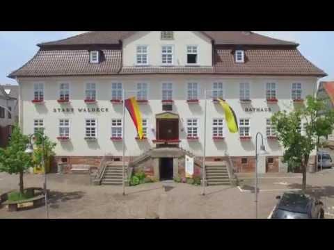 Waldeck von oben: Waldeck - Sachsenhausen