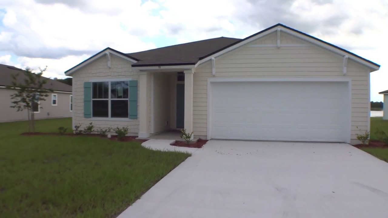 dr horton aria model in crescent key st augustine youtube