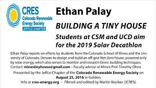Building A Tiny House For The Solar Decathlon