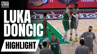 Watch as luka doncic & paul george embrace moments after dallas mavs 105-89 victory over la clippersdon't forget to subscribe fanatics view on for...