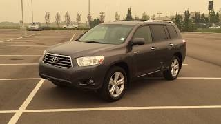 2009 Toyota Highlander Limited Review