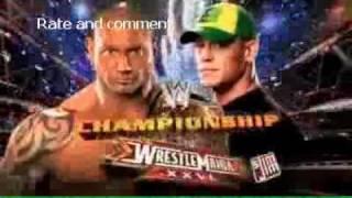 WWE Wrestlemania 26 RESULTS