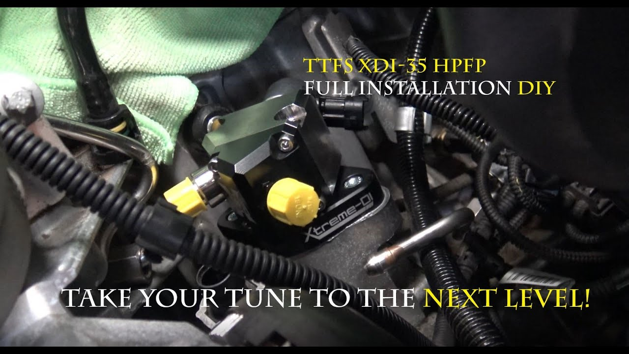 GermanBoost - BMW N55 DIY XDI-35 HPFP (high pressure fuel